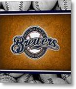 Milwaukee Brewers Metal Print