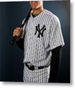New York Yankees Photo Day Metal Print