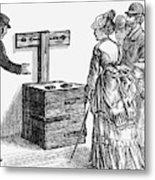 Newgate Prison, 1873 Metal Print