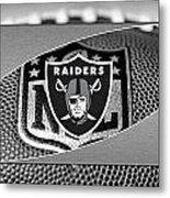 Oakland Raiders Metal Print by Joe Hamilton