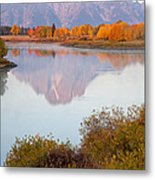Oxbow Bend Grand Teton National Park Metal Print