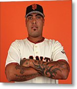 San Francisco Giants Photo Day Metal Print