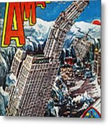 Science Fiction Magazine Metal Print