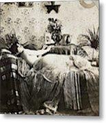 Sleeping Woman, C1900 Metal Print