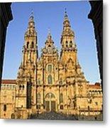 Spain. Santiago De Compostela Metal Print