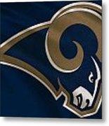 St Louis Rams Uniform Metal Print