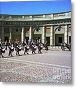 Stockholm Guard Change Metal Print