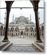 The Blue Mosque - Istanbul Metal Print