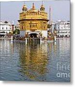 The Golden Temple At Amritsar India Metal Print