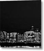 The Shard And Southbank London Metal Print