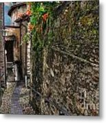 Tight Alley Metal Print