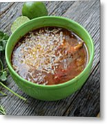 Tortilla Soup Metal Print