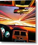 Traveling At Speed Of Light Metal Print
