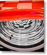 60s Look Metal Print by Phil 'motography' Clark