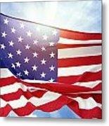 American Flag 55 Metal Print