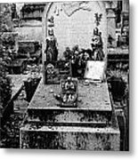 Pere-lachais Cemetery In Paris France Metal Print