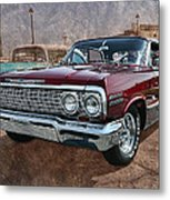'63 Impala Metal Print