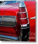 63 Pontiac Bonneville Metal Print