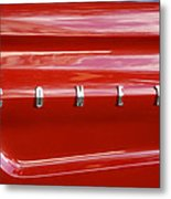 64 Red Comet Metal Print