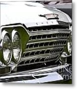 Chevy Impala Metal Print
