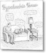 New Yorker December 24th, 2007 Metal Print