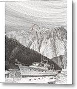 Desolation Sound Quiet Anchorage     Metal Print