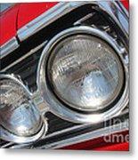 65 Malibu Ss 7802 Metal Print