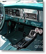 65 Plymouth Satellite Interior-8499 Metal Print