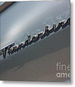 65 T-bird Emblem-7876 Metal Print