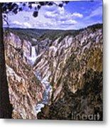 661 Sl Yellowstone Canyon  Metal Print