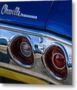 67 Chev Taillight Metal Print
