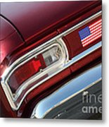 67 Malibu Chevelle Tail Light-0060 Metal Print