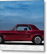 67 Mustang Metal Print