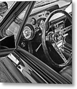 67 Mustang Interior Metal Print