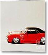 68 Chevy Camera Metal Print