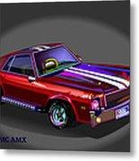 69 Amc Amx Metal Print