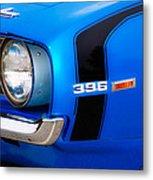 69 Camaro Metal Print