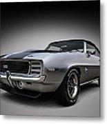 '69 Camaro Ss Metal Print
