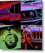 '69 Mustang Metal Print
