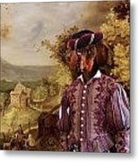 Dachshund Art Canvas Print Metal Print
