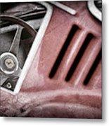 1966 Ferrari 275 Gtb Steering Wheel Emblem Metal Print by Jill Reger