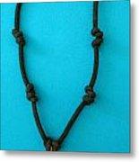 Aphrodite Melainis Necklace Metal Print