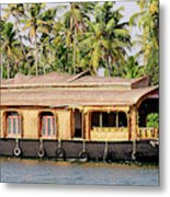Asia, India, Kerala (backwaters Metal Print