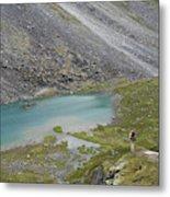 Backpacking In Alaska Talkeetna Metal Print