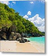 Beautiful Caribbean Beach Metal Print