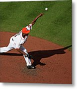 Chicago White Sox V Houston Astros 7 Metal Print