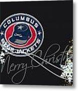 Columbus Blue Jackets Metal Print
