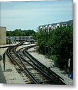 Cta's Retired 2200-series Railcar Metal Print
