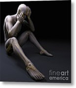 Depression Metal Print