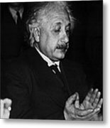 Dr. Albert Einstein Metal Print